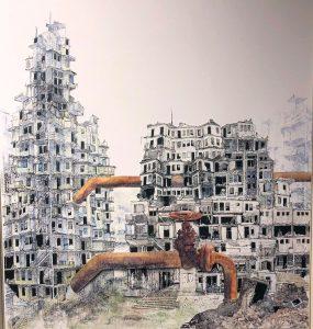 Inkijkje in expositie 'Architectuur'
