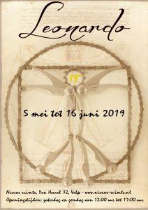 De komende expositie 'Leonardo, mens of mythe'